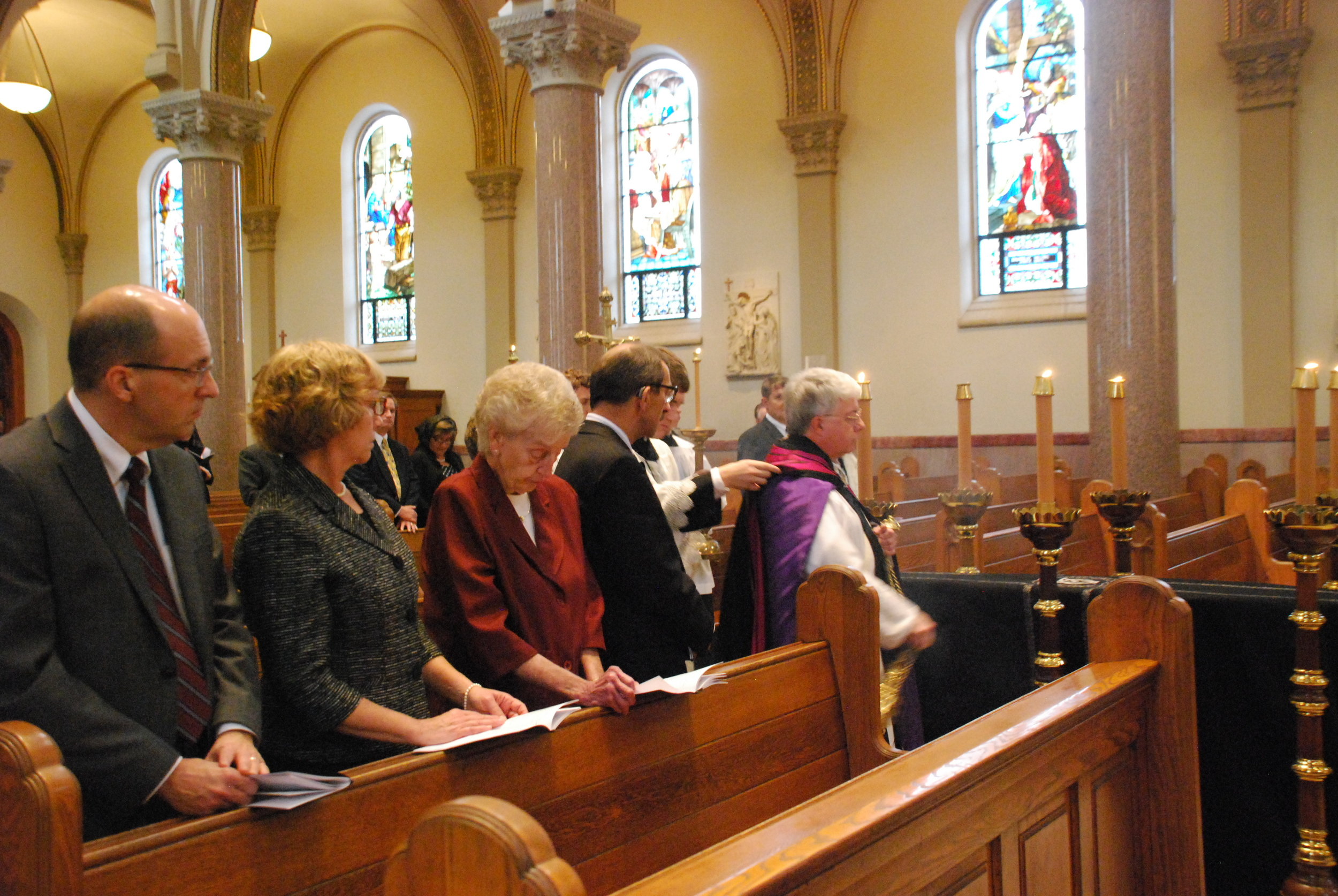 Requiem High Mass for Br. Nathan Cochran, O.S.B.