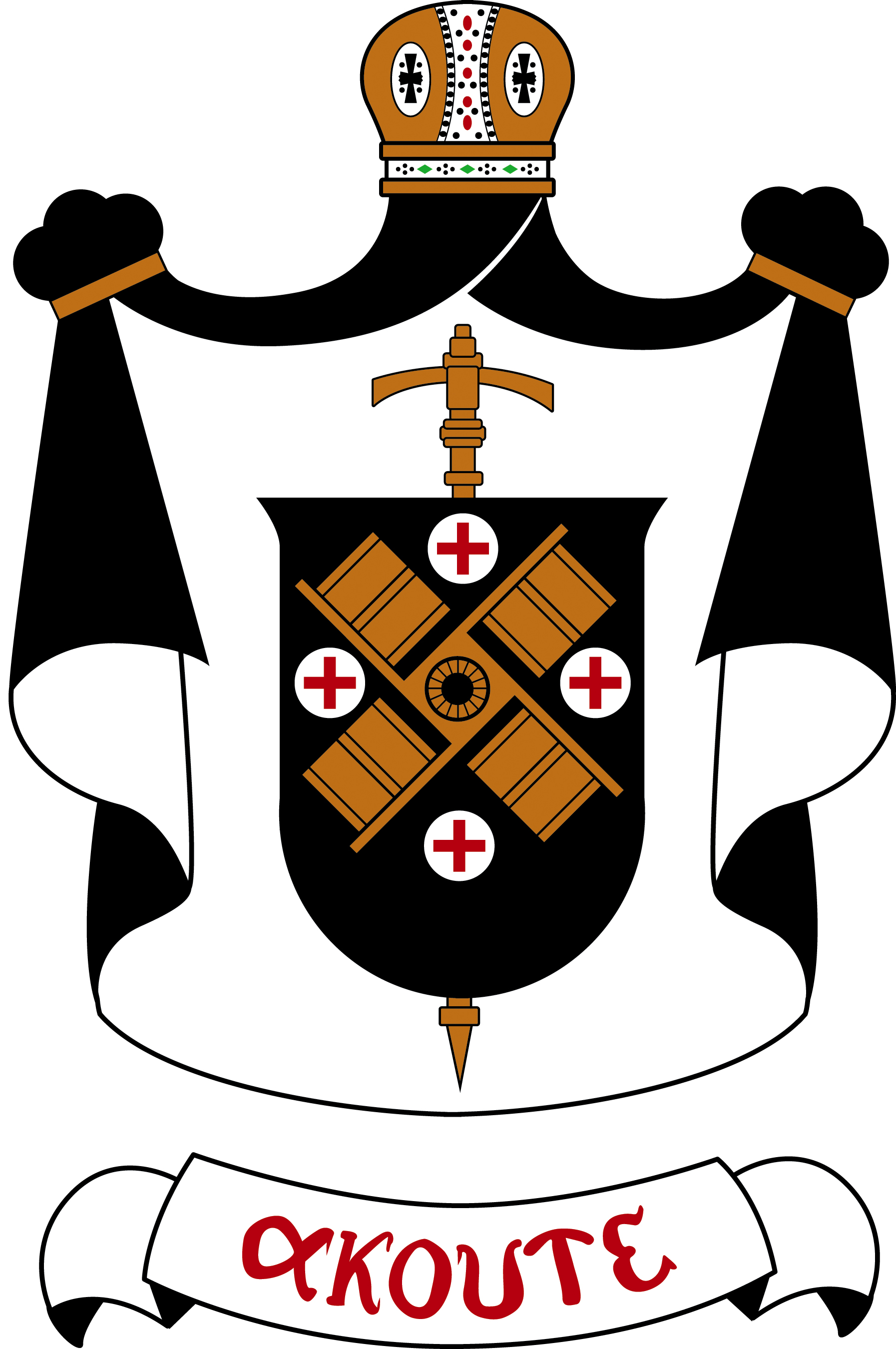 Rt. Rev. Paschal Morlino, O.S.B., Coat of Arms