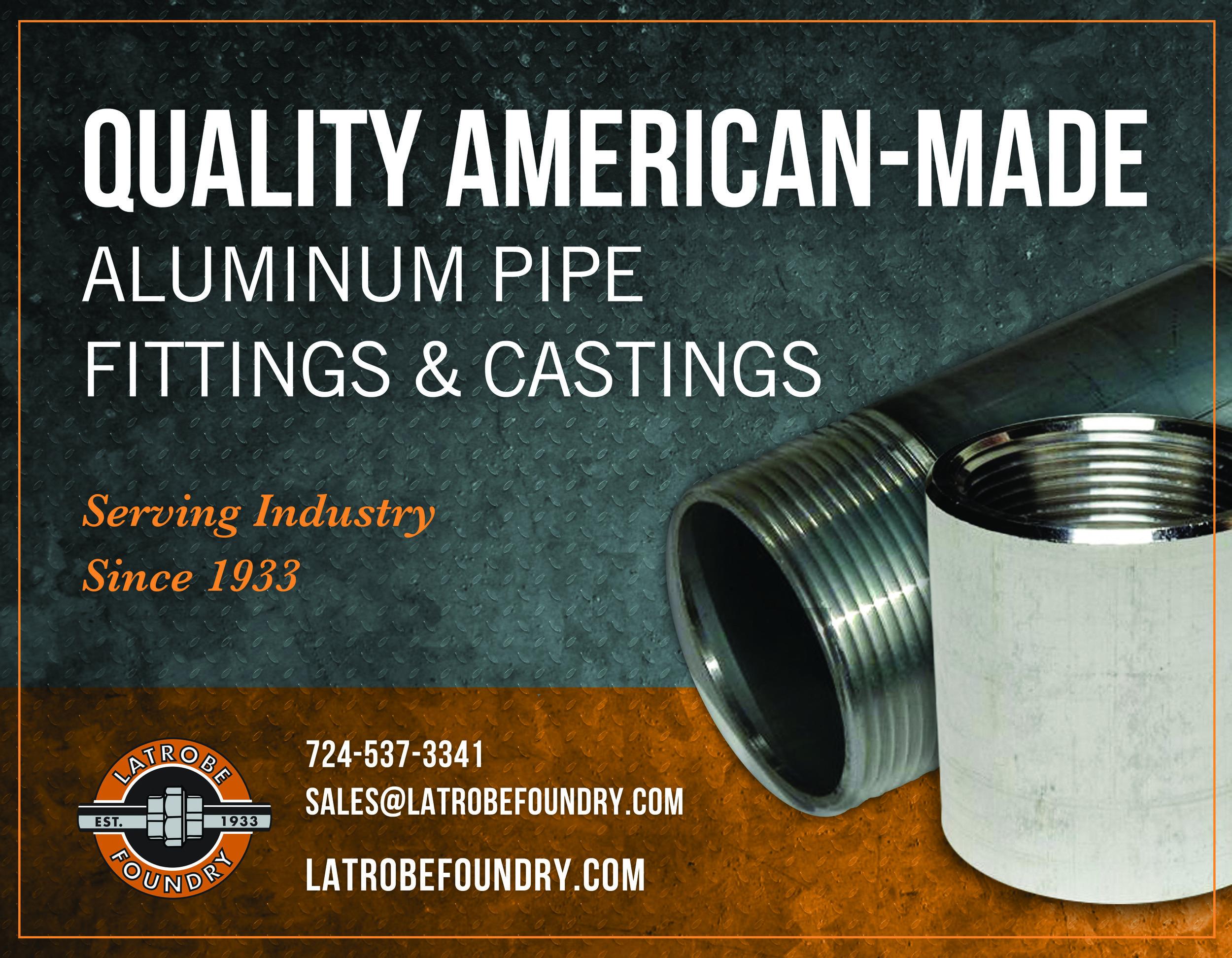 Latrobe Foundry Horizontal Ad