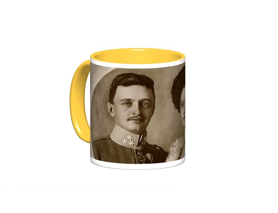 Blessed Karl and Zita Mug Design