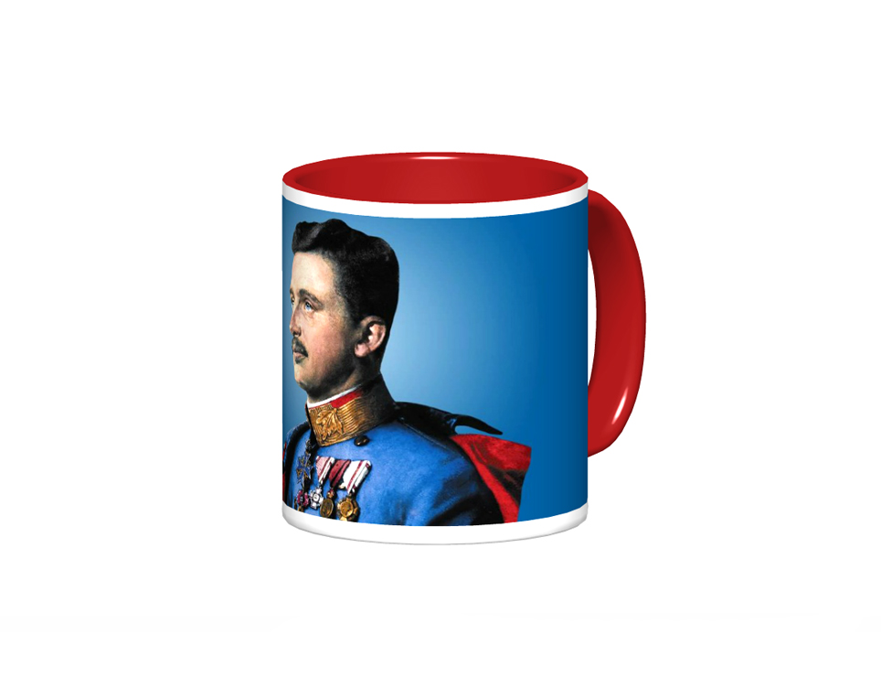 Blessed Karl Mug Design