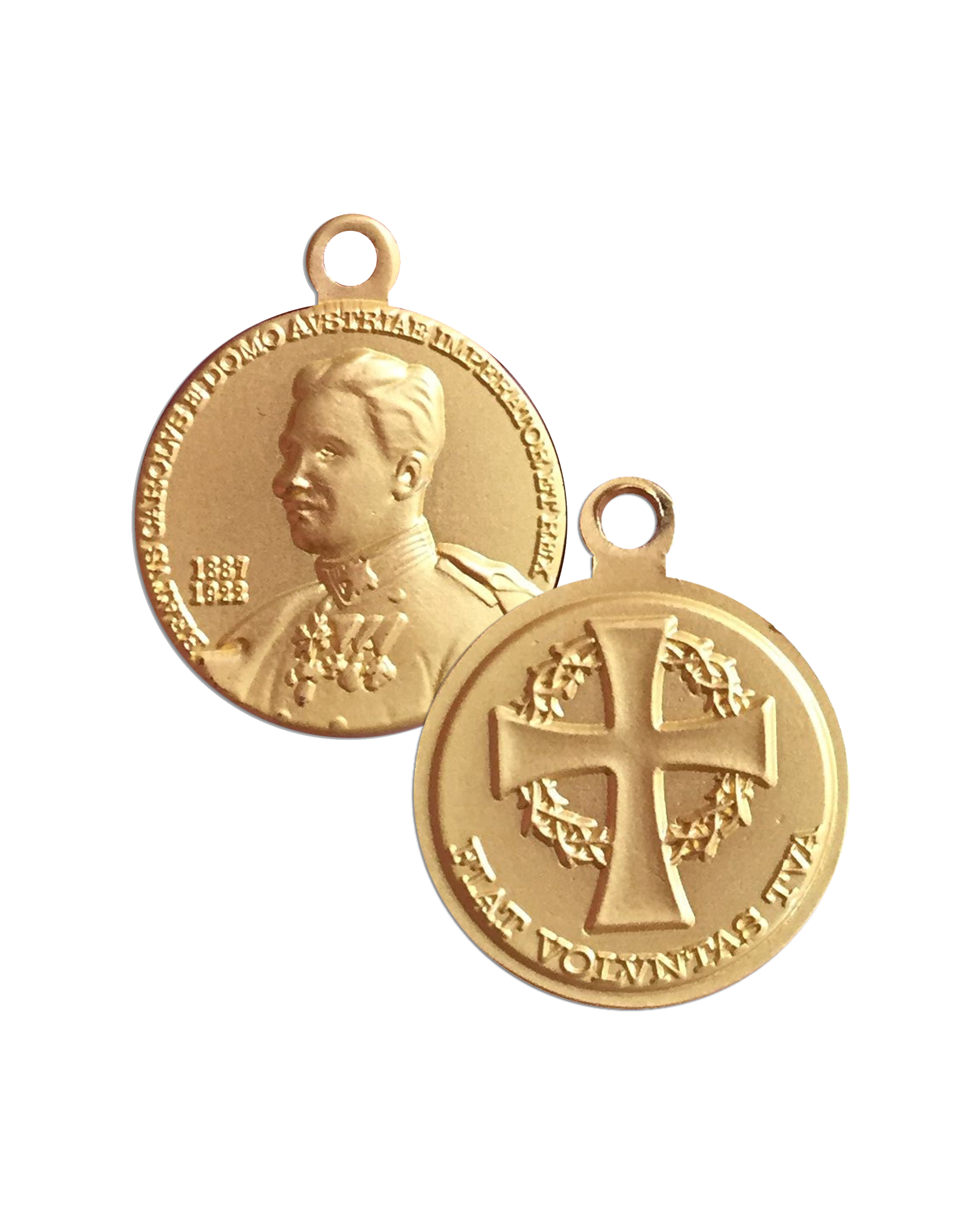 Blessed Karl Medal Design