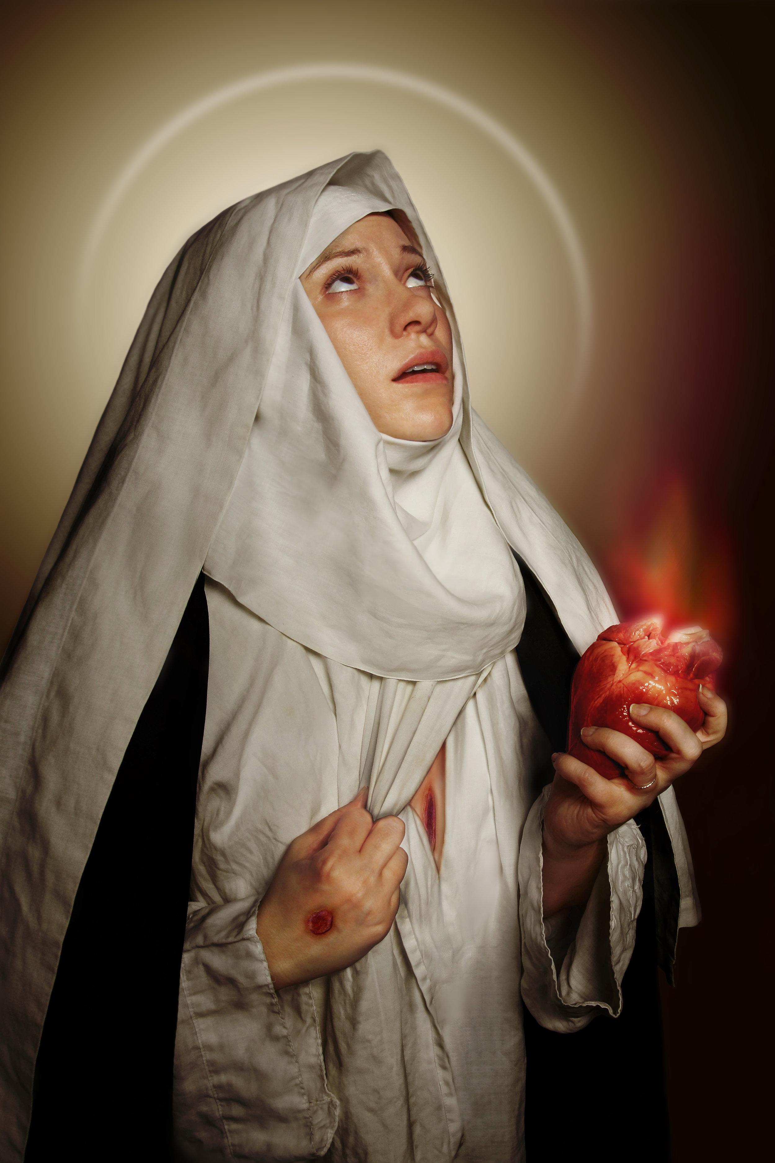 Catherine of Siena , Jordan Hainsey, Digital Photograph, 2018