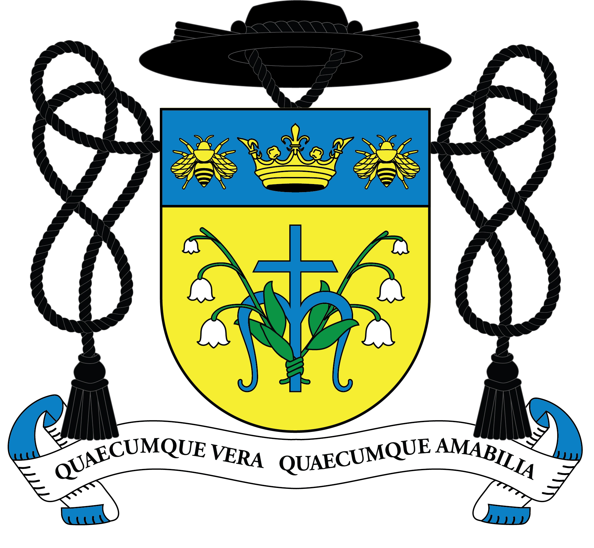Coat of Arms for Fr. Stef Bankemper