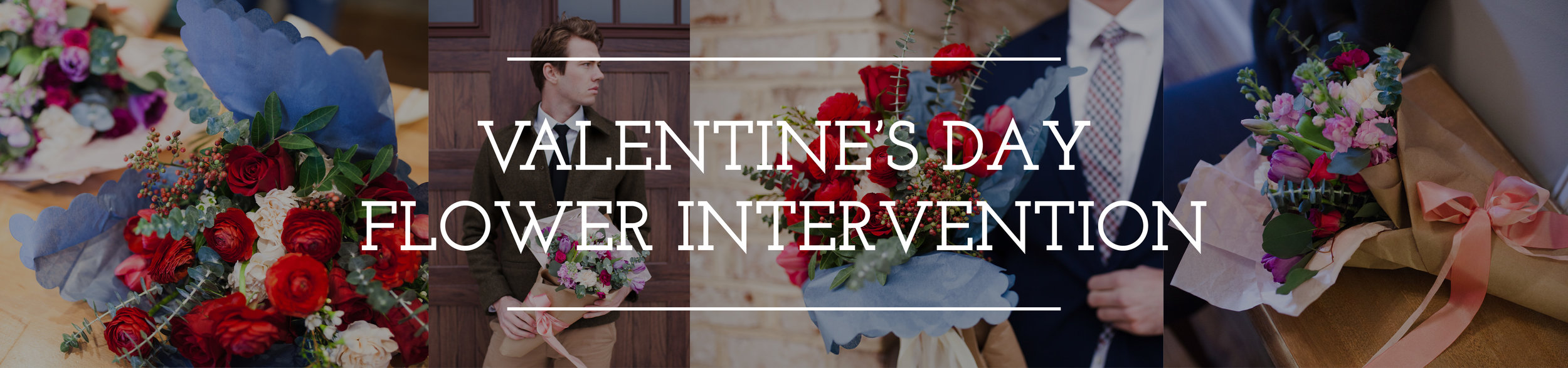 Petal Flower Company Valentine's Day pop-up shop