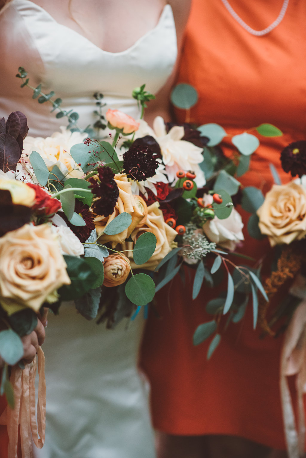 fall garden inspired bouquets