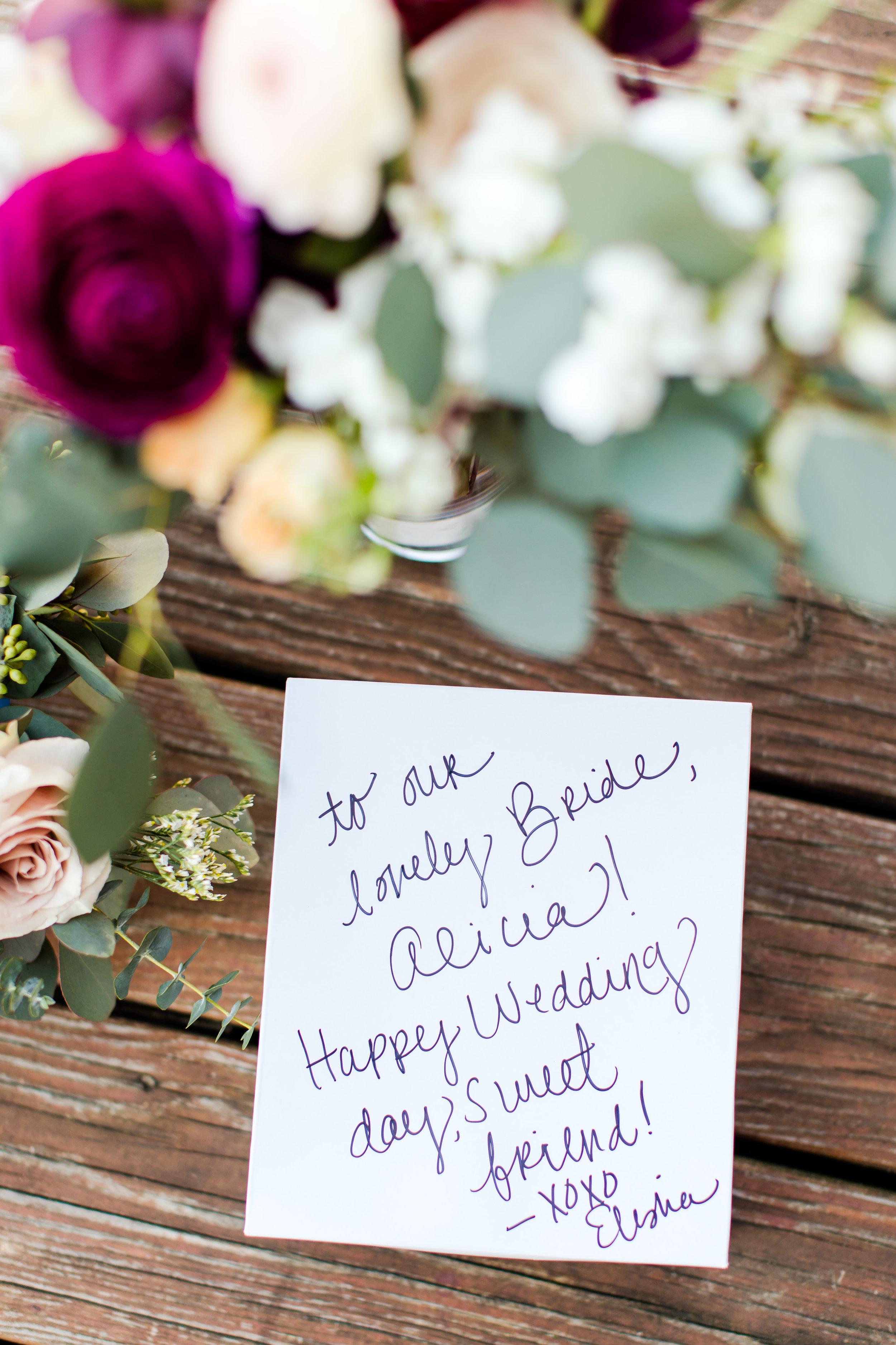 florist note