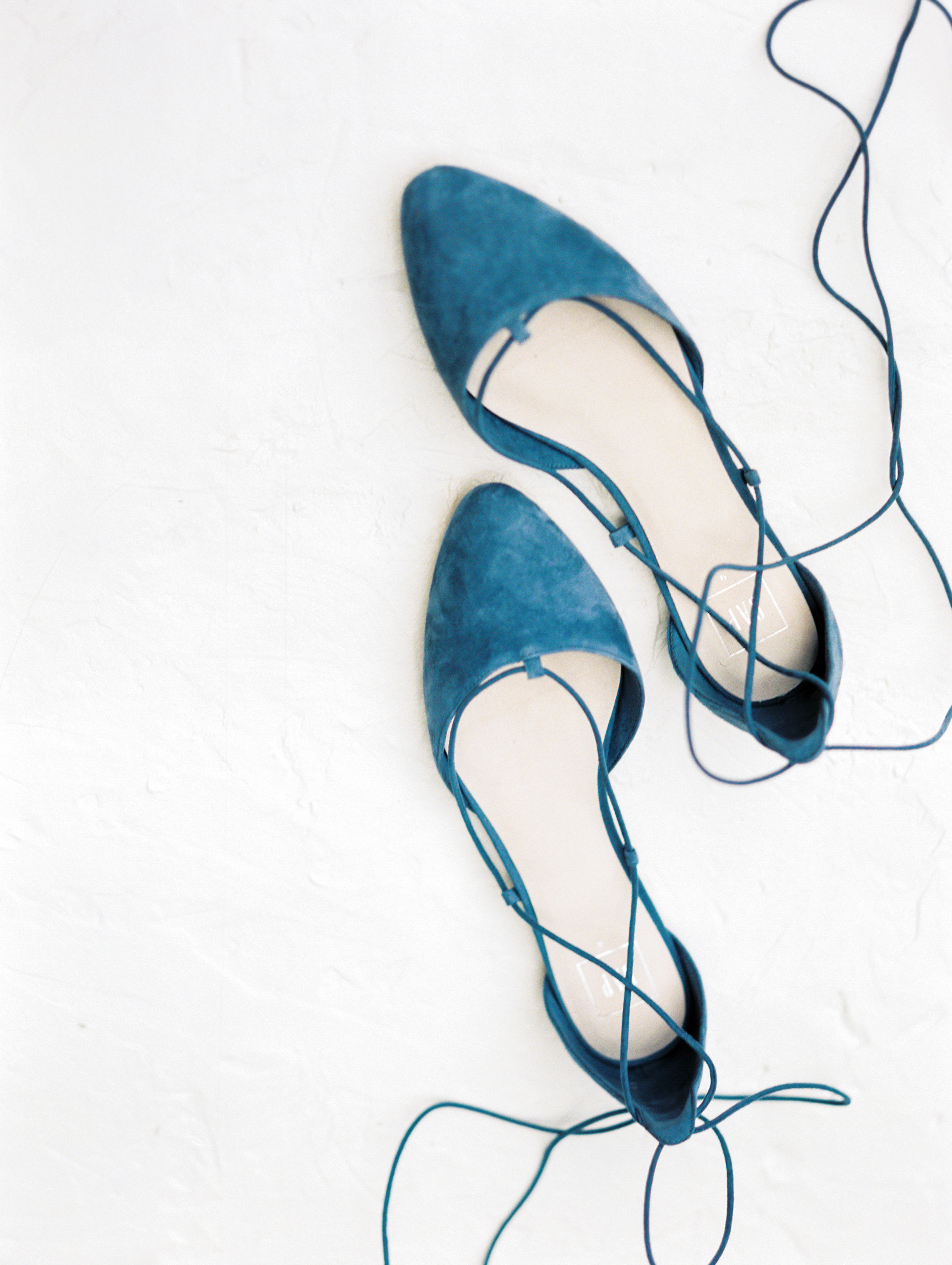 blue bridal shoes velvet