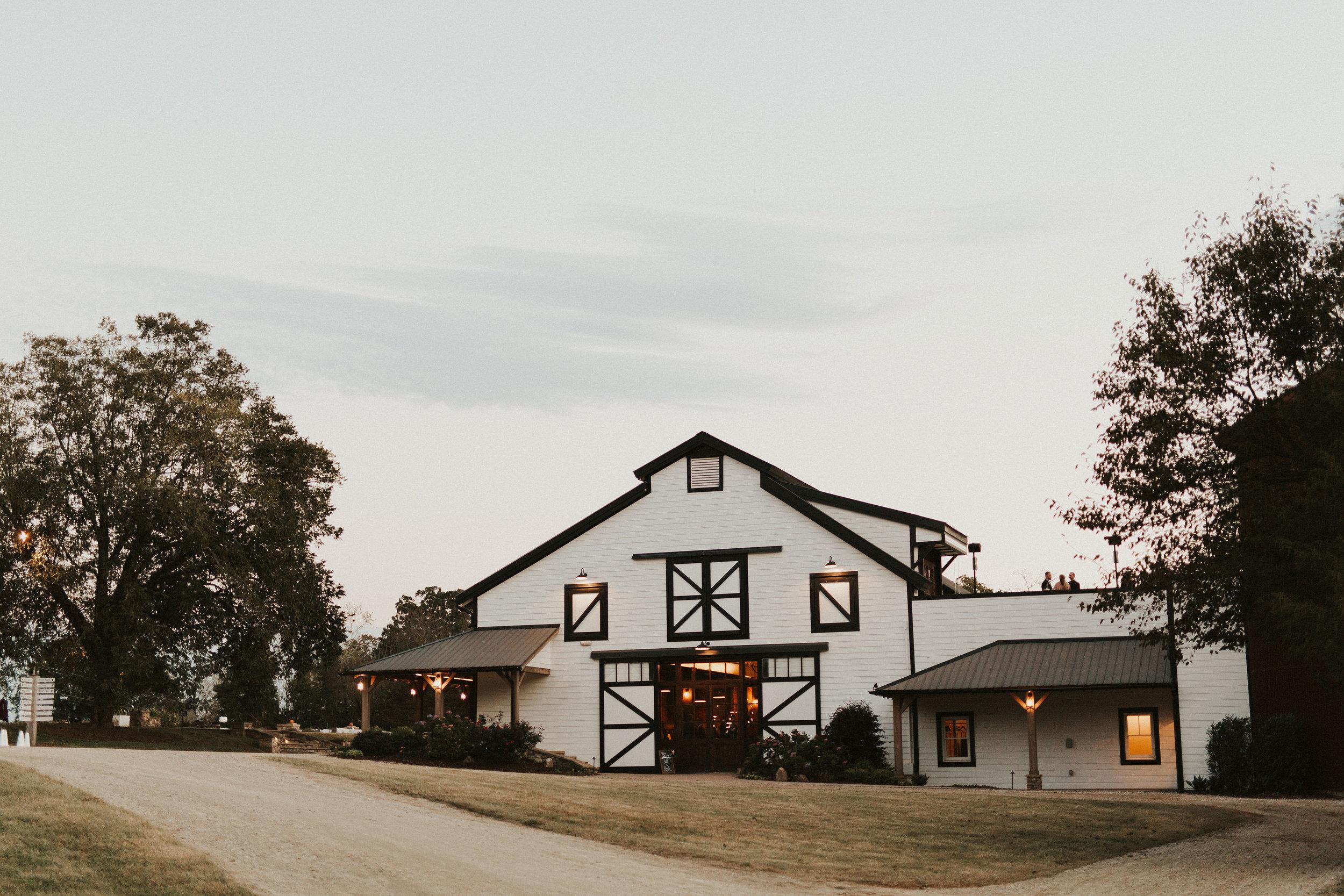 north carolina barn wedding