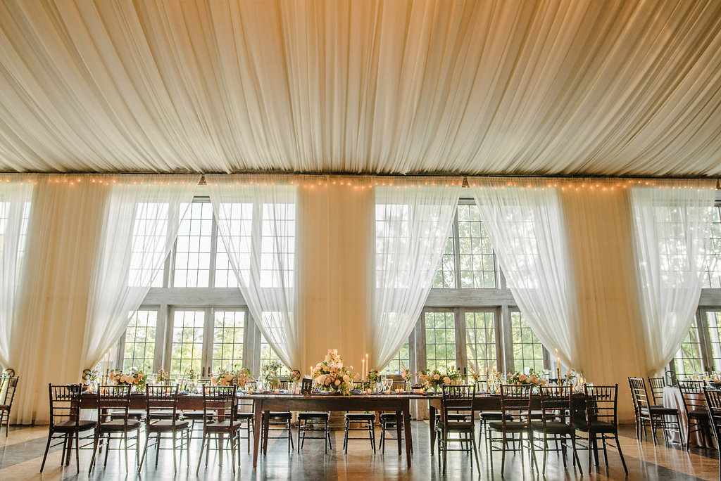 draping wedding