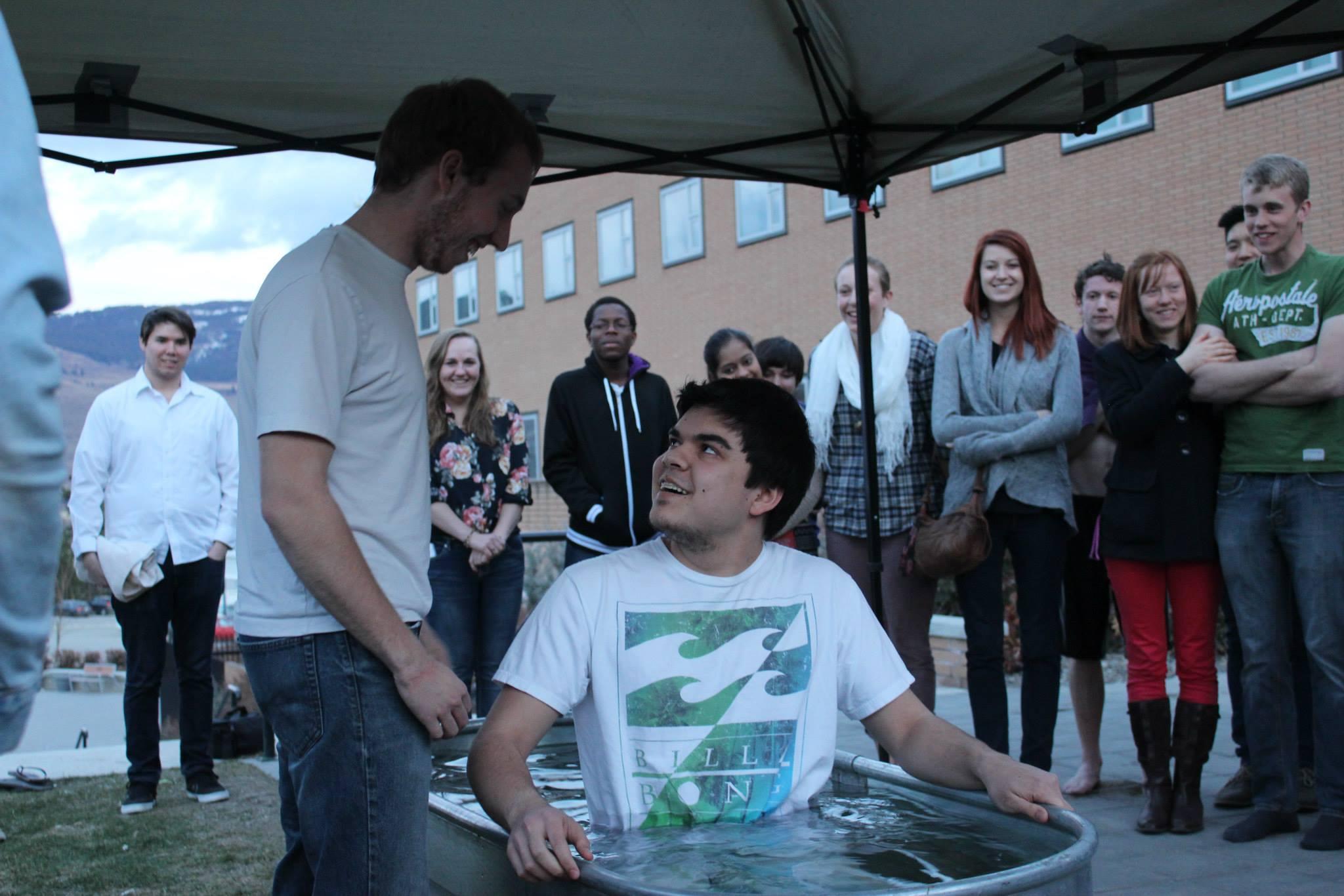 Karl's baptism!