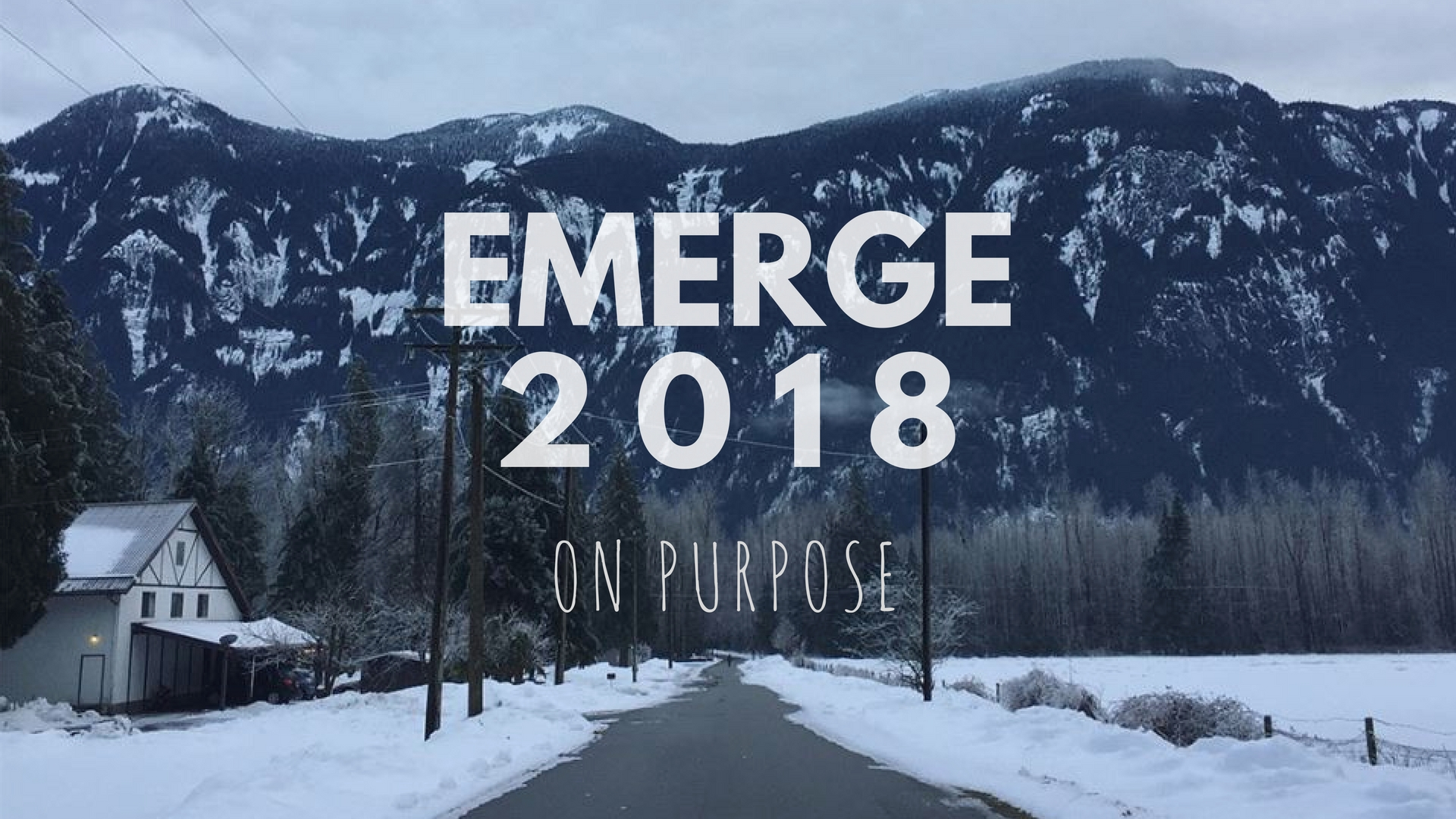 Emerge Retreat - January 2018