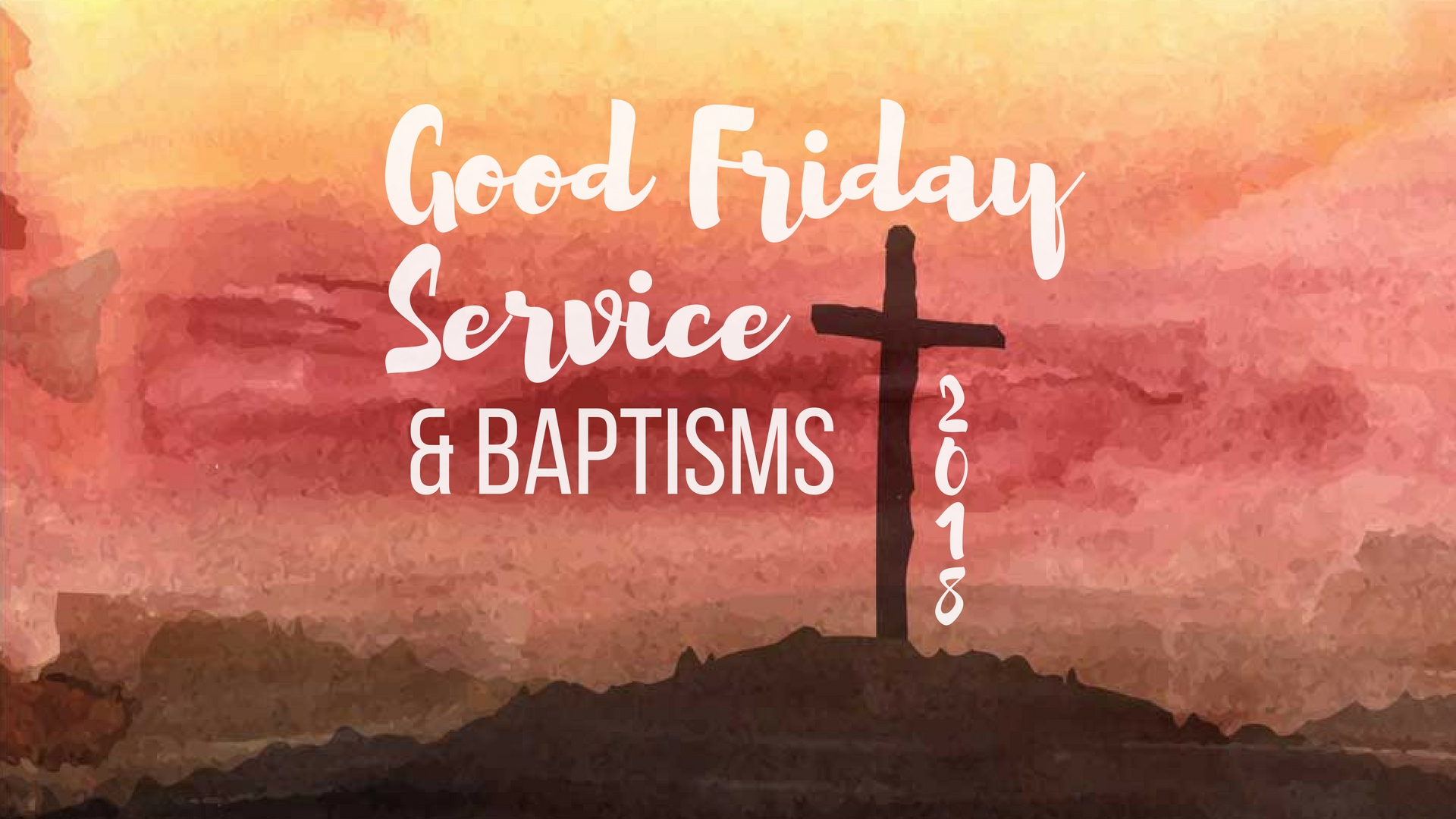 Good Friday Service - March 2018