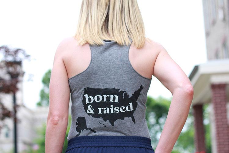 Born & Raised Tank