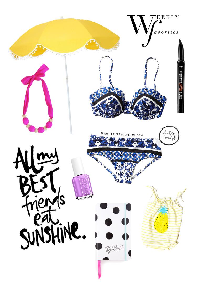Weekly Favorites | Let It Be Beautiful