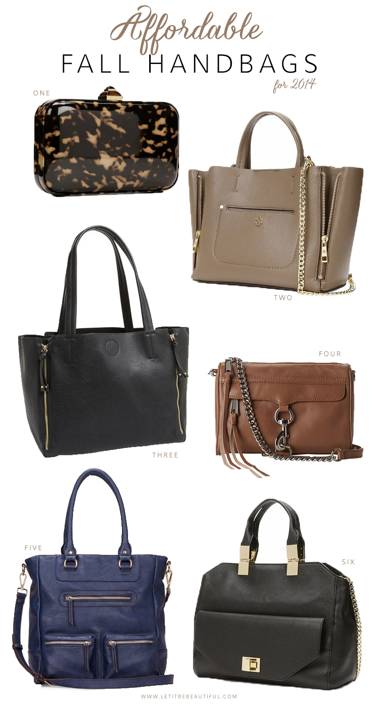 Affordable Fall Handbags