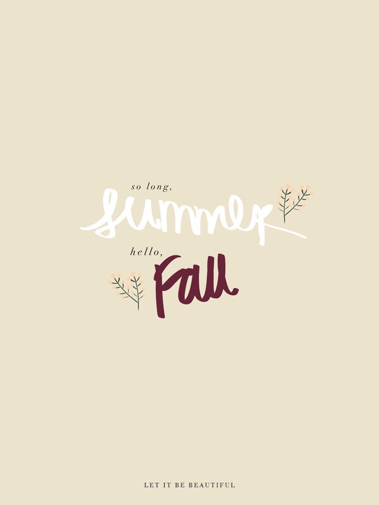 Fall Desktop Freebie, Fall iPhone Background