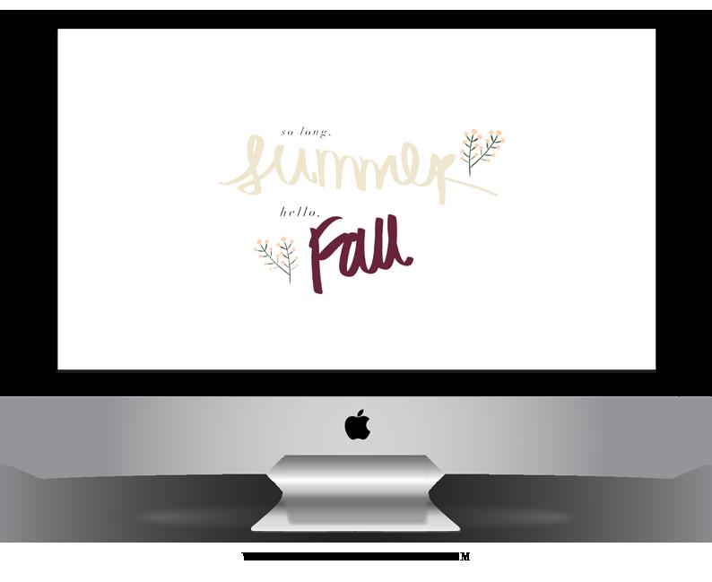Fall Desktop Download, Fall Freebie