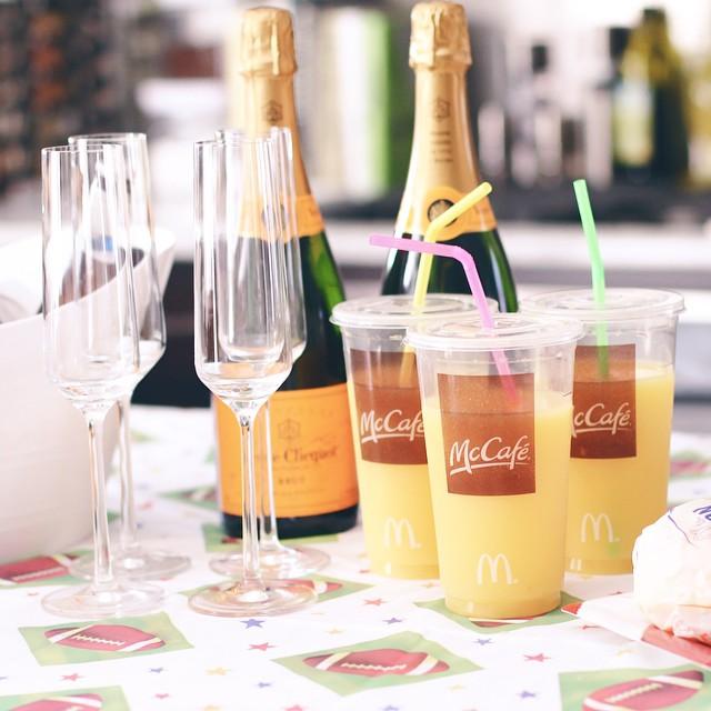Champagne & OJ