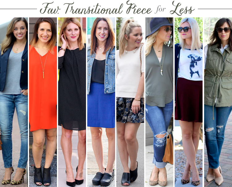 Bloggers Who Budget: Favorite Transitional Piece
