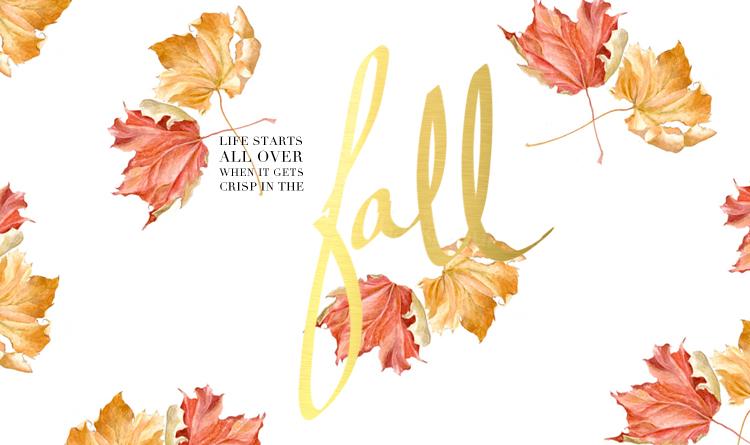 Fall Downloadable Freebie