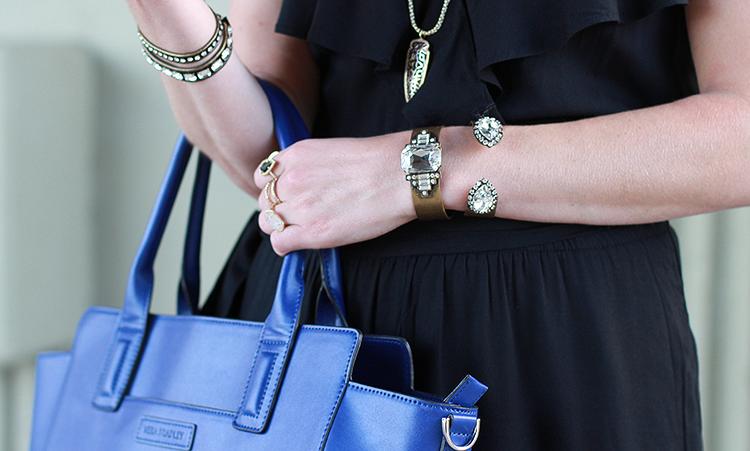 Loren Hope Jewels, Black Jumper, Fall Fashion, Black & Blue Outfit