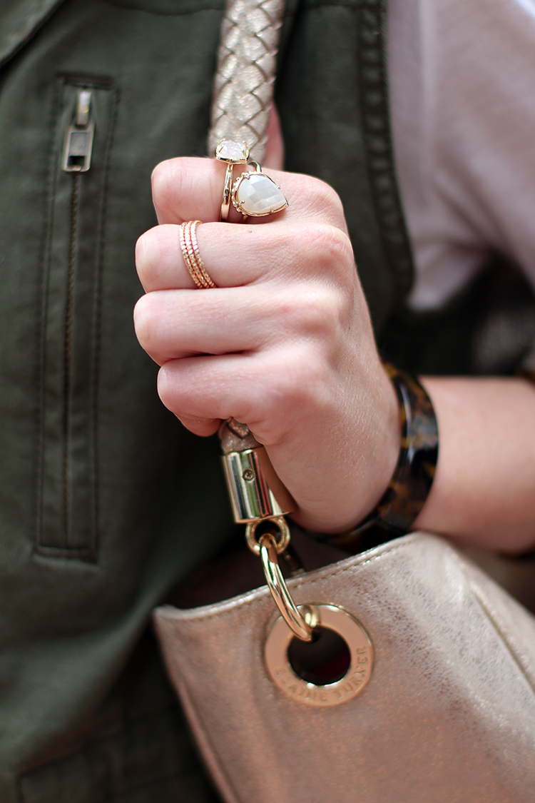 Military Vest, Dainty Jewelry, Let It Be Beautiful Blog