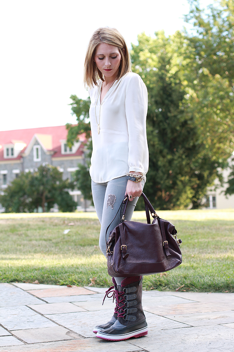 Fall Outfit Idea, Fall Casual, Winter Boots