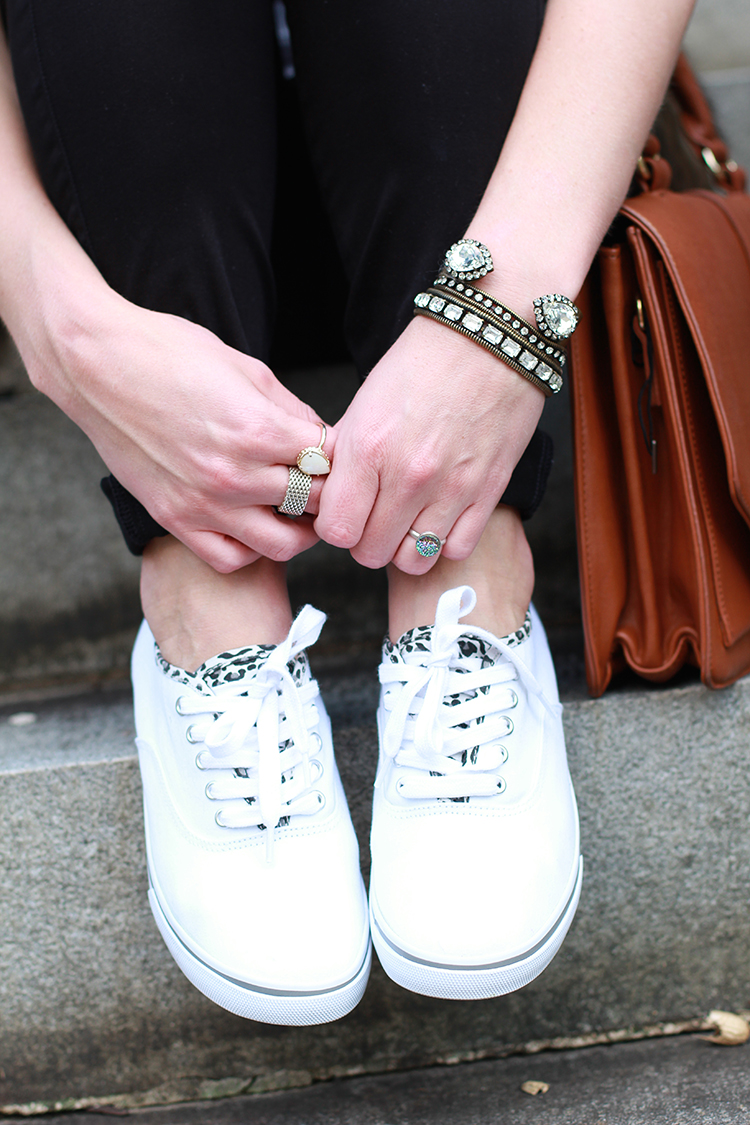 Sparkle & Leopard, Casual Sneakers