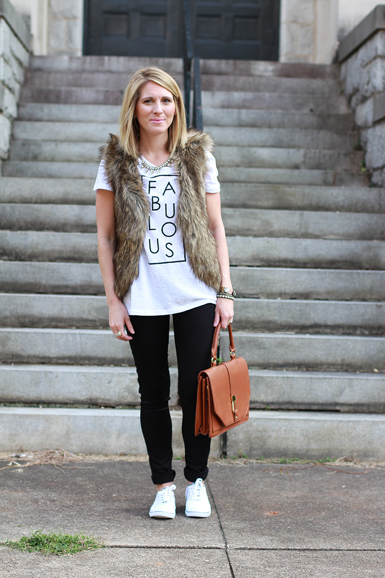 How To Style A Fur Vest