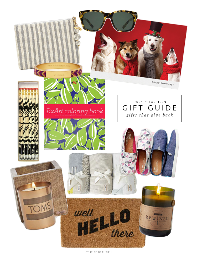 Holiday Gift Guide | Gifts That Give Back, Holiday 2014, TargetxToms
