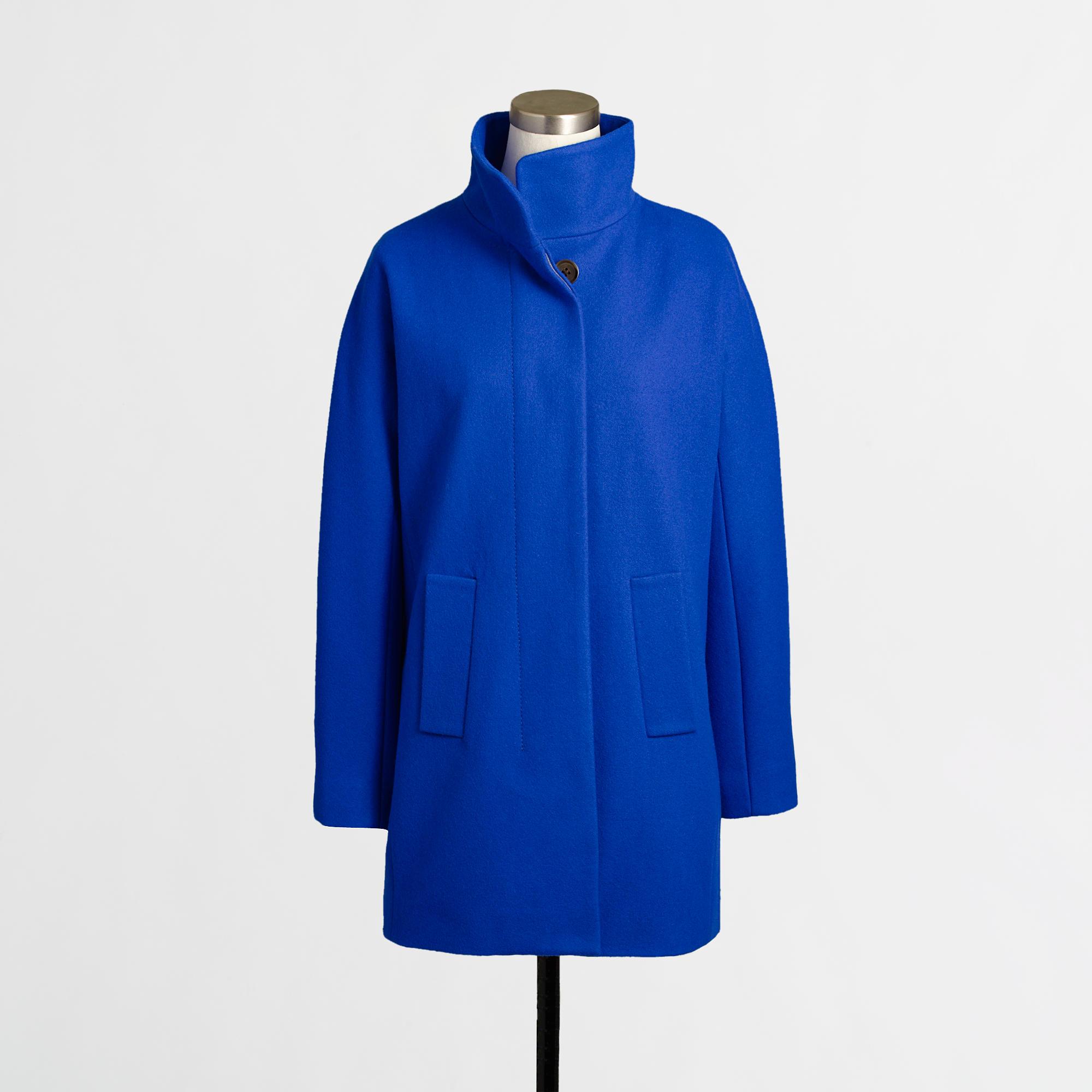 Cobalt Blue City Coat