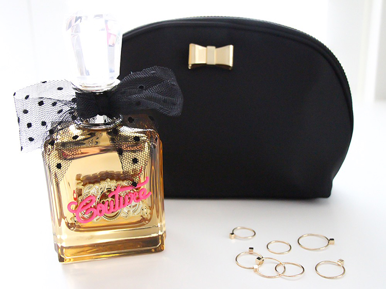 Juicy Couture Fragrance, Bow Bag, Dainty Rings