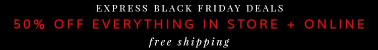 Express Black Friday Deal 2014