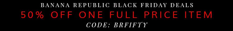 Banana Republic Black Friday Deal 2014