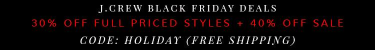 Crew Black Friday Deal 2014