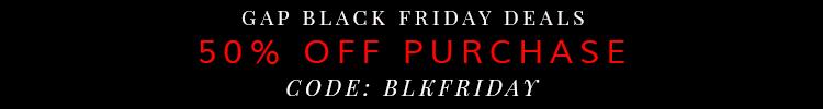 Gap Black Friday Deal 2014