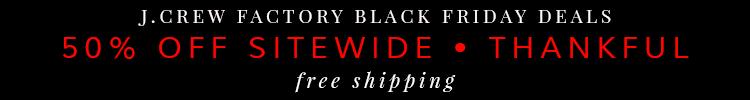 J.Crew Factory Black Friday Deal 2014