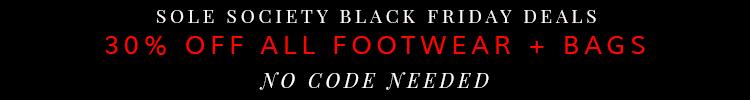Sole Society Black Friday Deals