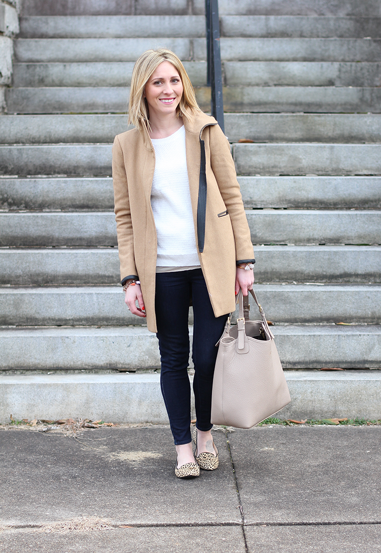 Easy Winter Outfit Idea, Winter Outfit Inspiration, Cream Sweater