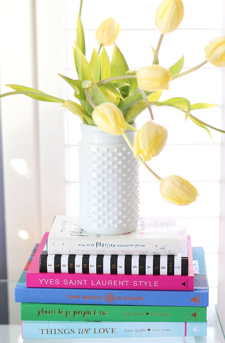 Yellow Tulips, Pretty Coffee Table Books