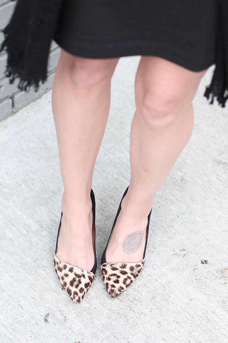 Classic Leopard Heel