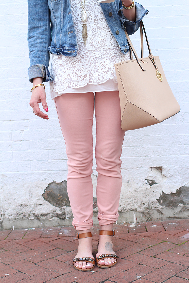 Denim Jacket, Spring Outfit Idea