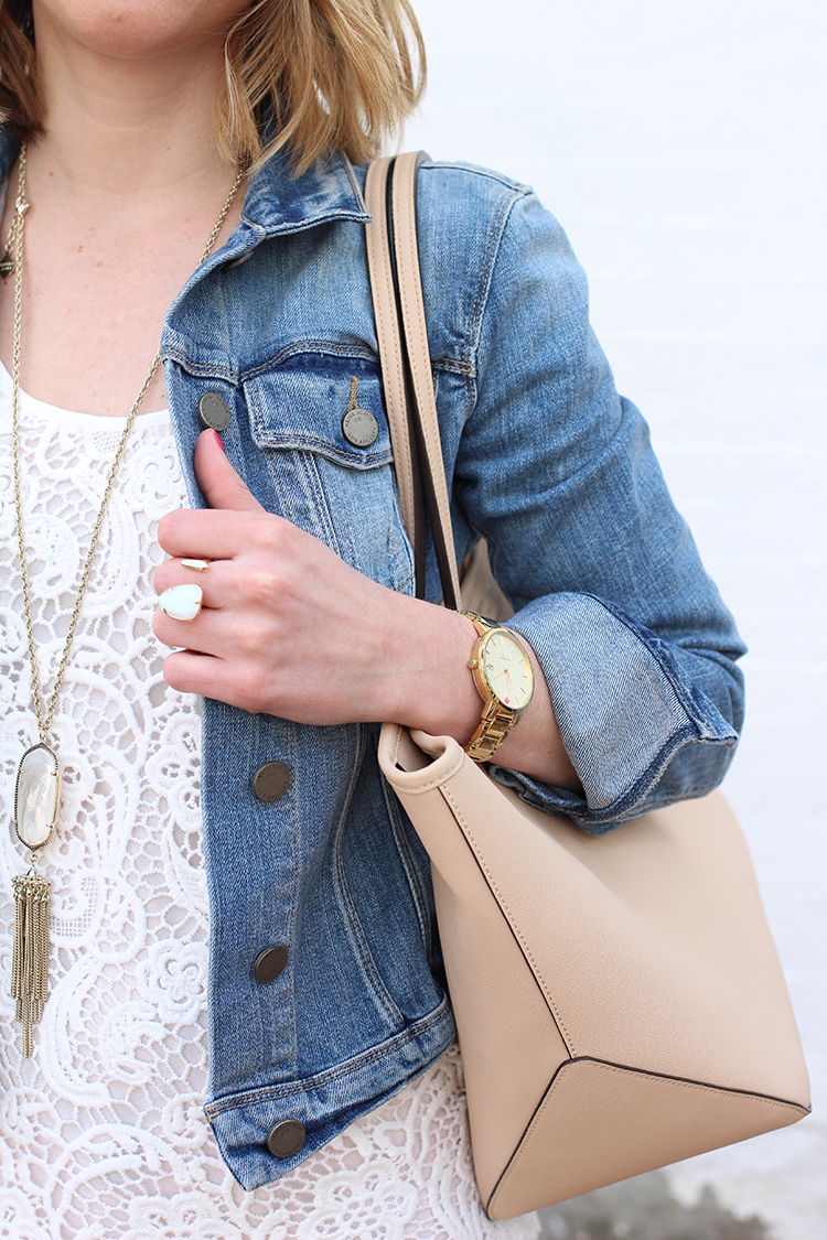 Styling the denim jacket, Comfy Denim Jacket