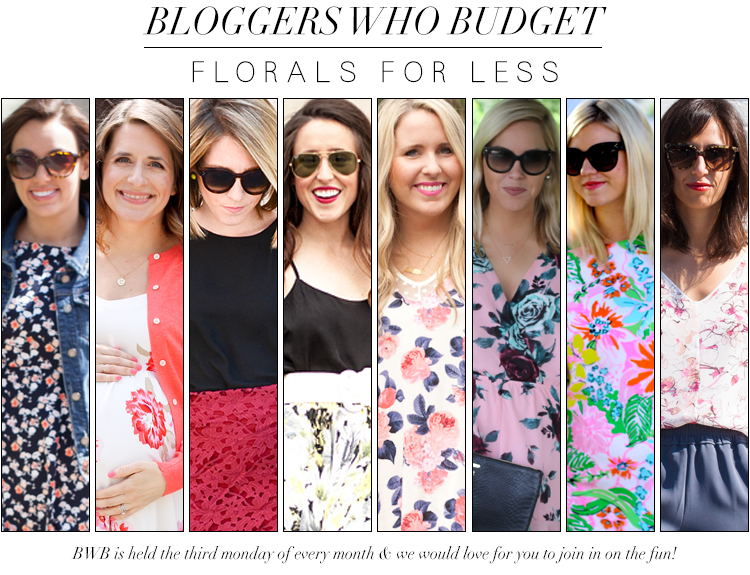 Bloggers Who Budget: Florals For Less