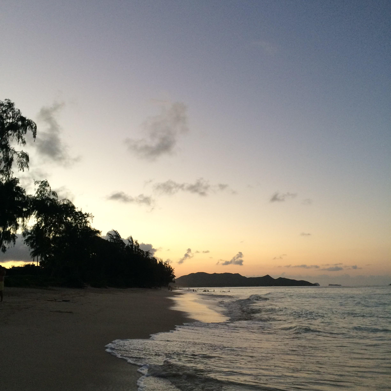 Waimanalo Sunset