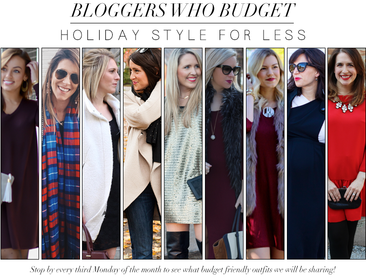 Bloggers Who Budget: Holiday Style For Less