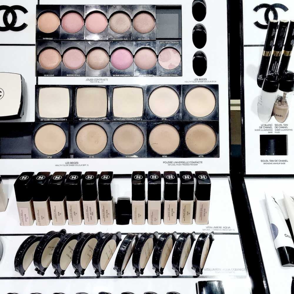Chanel Beauty Counter