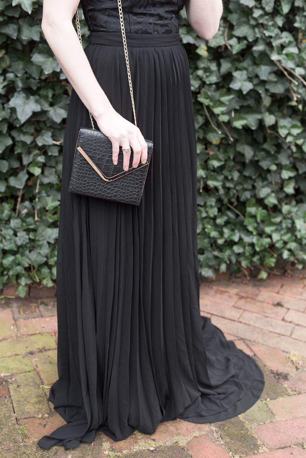 Black + Gold, Christmas Dress, Lulus Party Perfect Contest