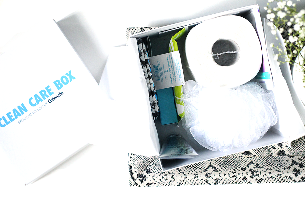 Cottonelle Clean Care Box from Target Contents